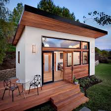 building a guest house in your backyard this small backyard guest house is big on ideas for compact living