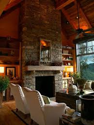 Decorate Inside Fireplace by 30 Stone Fireplace Ideas For A Cozy Nature Inspired Home