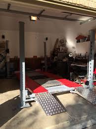 best 4 post lift for the c7 corvetteforum chevrolet corvette