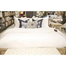 patrina fog gray embroidery cotton king duvet cover v022360 the