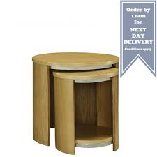 nest of coffee tables modern jual curve oak jf306 nest of tables savings on jual furniture