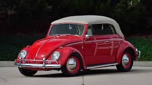 red volkswagen convertible 1964 volkswagen beetle convertible f181 monterey 2016
