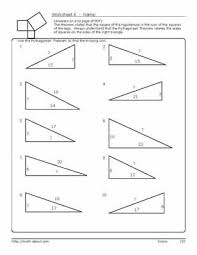 pythagorean u0027s theorem worksheets