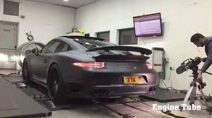 porsche 911 turbo sound 2016 porsche 911 turbo s exhaust sound revs dyno