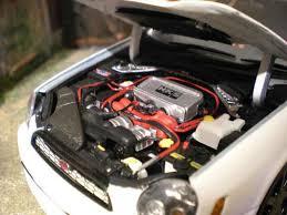 subaru autoart subaru impreza wrx wagon sti jdm white autoart diecast model car 1