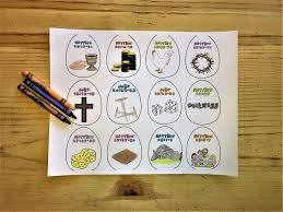 resurrection eggs easter coloring pages u2013 children u0027s ministry deals