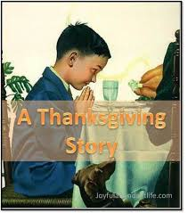 a thanksgiving story a though provoking and convicting