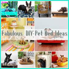 Cat Bed Pattern 25 Fabulous Diy Pet Bed Ideas Part 2 The Cottage Market