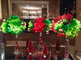 christmas centerpiece diy paper flowers youtube
