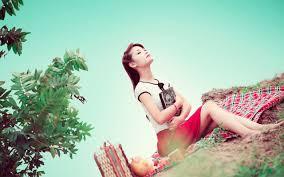 happy at a picnic wallpaper 36088