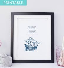 printable there are good ships and wood ships the ships