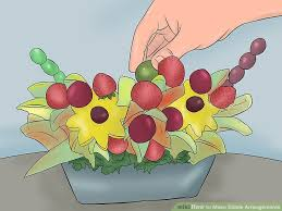 eligible arrangements 3 ways to make edible arrangements wikihow