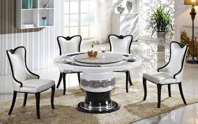 round marble kitchen table appealing dining room modern round marble table for chairs set