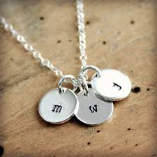 Initials Necklace Silver The 25 Best Initial Necklaces Ideas On Pinterest Initial