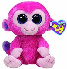 amazon ty beanie boos razberry monkey toys u0026 games