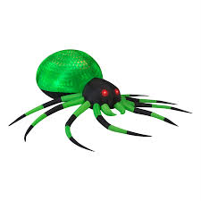 Gemmy Halloween Inflatable by Shop Gemmy Projection Phantasm Spider 2 62 Ft X 8 Ft Lighted