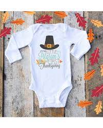 fall is here get this deal on pilgrim onesies