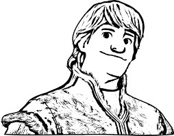 frozen kristoff coloring pages getcoloringpages com