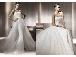 Wedding Dress With Train Mermaid Lace Pronovias Wedding Dress With Train
