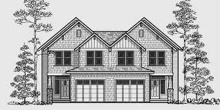 Luxury House Plans With Basements by Craftsman Duplex House Plans Luxury Duplex House Plans Basement