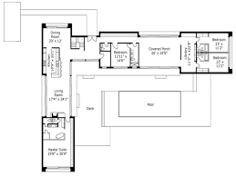 House Plans With Pools by L Shape House Plan By Architect Frank Mcgahon House Plans Unique L