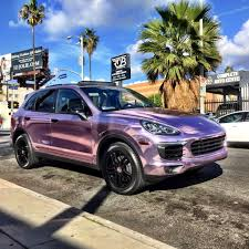 metallic pink bentley rdbla u2013 custom pink chrome porsche cayenne rdb la five star