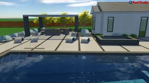 garden amazing backyard with outdoor pool by claffey pools design