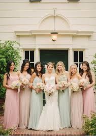 how to coordinate mismatched bridesmaids dresses weddingphotousa