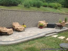 Retaining Wall Patio Design Agape Paver Pictures 8