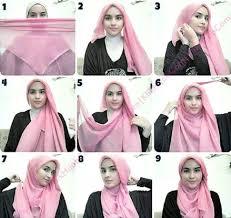 tutorial hijab paris zaskia new tutorial hijab paris image