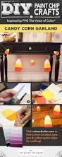 25 best halloween paint chip diy crafts images on pinterest