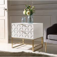 high gloss lacquer nightstand wayfair
