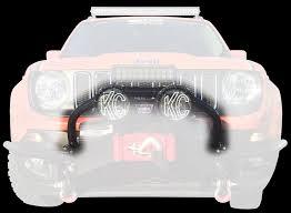 jeep light bar bumper jeep renegade front winch bumper light bar mount daykj50003bk daystar