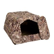 Pop Up Hunting Blinds Little Buddy Dog Blind Tanglefree
