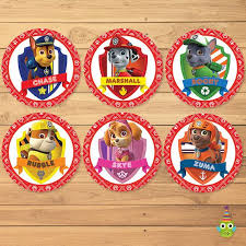 Paw Patrol Cake Decorations 25 Unique Paw Patrol Cupcake Toppers Ideas On Pinterest Paw