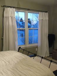 appealing white and blue colors girls bedroom curtains for large