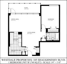 Shaughnessy Floor Plan 1 Bedroom Apartments For Rent At 185 Shaughnessy Blvd Toronto On