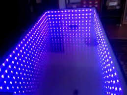 Coffee Tables With Led Lights Infinity Coffee Table