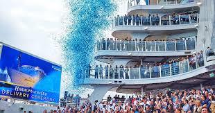 royal caribbean harmony of the seas royal caribbean takes delivery of harmony of the seas cruise ship