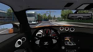 nissan 370z winter driving nissan 370z v 1 0 mod for ets 2