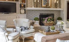 French Country Family Room Hometalk - Family room in french