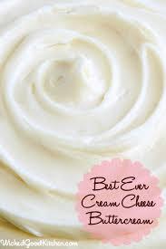 best ever cream cheese buttercream recipe cream cheese