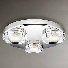Bathroom Lights Buy Philips Mira 3 Bulb Led Bathroom Light At Johnlewis