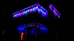 Outdoor Projector Christmas Lights by Projection Christmas Lights Youtube