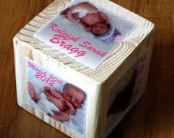 Photo Cubes Centerpieces by View Photo Letter Cubes By Wastenotrecycledart On Etsy