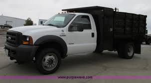 ford f550 truck for sale 2006 ford f550 dump bed truck item f4866 sold april 24