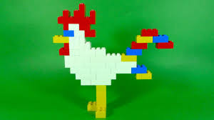 how to build lego chicken 6177 lego basic bricks deluxe