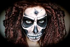 www letzmakeupblog com scary creepy skull makeup tutorial