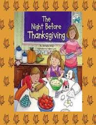 the before thanksgiving a thanksgiving reader s theater