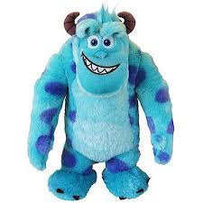 monsters university 50cm sulley soft toy entertainer